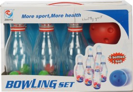 TOY HUT Mini Bowling Bing Set(Multicolor)