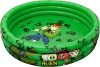 Simba Ben 10 Inflatable Baby 3 Ring Pool (Green)