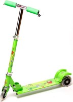Shape N Style Kids Scooter With Light Effects On Tyres(Foldable,Height Adjustable) (Multicolor)