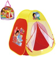 Toys Bhoomi Dora Explorer's Play Tent - 100% Safe Polyester Fabric (Multicolor)