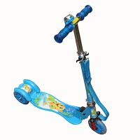 AdraxX Blue Power Kids Scooter (Blue)