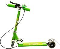Zaprap Three Wheeled Folding Kids Scooter (Green)