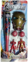 Turban Toys Ultimate Baseball Set WIth Avengers Mask For Kids (Multicolor)
