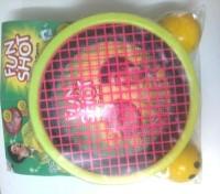 Prem Ratna Games & Toys Fun Shot Hand Tennis (Multicolor)