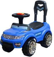 Taaza Garam Kids Imported High Quality Ride On Push Along Range Rover Magic Car - Gift Toy (Blue)