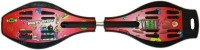 Madink Red Ripstick Wave Board With LED Lights In Wheels (Red)