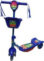 Cosmic Zoomer 3 Wheel Kids Fun Kick Scooter (Blue)