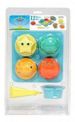 Melissa & Doug Outdoor Toys Melissa & Doug Seaside Sidekicks Sand Cupcake Set