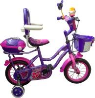HLX-NMC Kids Bicycle 12 Bowtie Purple, Pink (Purple)