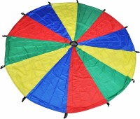 GSI Kids Mini Parachute With Bag (Red, Yellow, Green, Blue)
