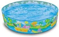 Turban Toys Intex 4 Feet Swimming Pool For Kids (Multicolor)