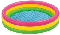 Turban Toys Intex Inflatable Water Tub Pool For Kids(2-Feet) (Multicolor)