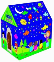 Taaza Garam Light Tent Play House For Kids Toys With Led Lights (Multicolor)