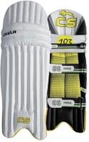 Ceela Test Men Men Batting Pads (White, Yellow, Ambidextrous)