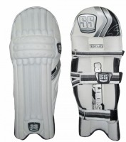 SS Test Players Men Batting Pads (White, Black, Right Hand)