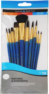 Buy Daler-Rowney Bright, Filbert, Round, Flat Paint Brush: Paint Brush