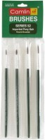 Camlin Series 52 Round Paint Brushes (Set Of 1, Green)