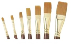 Buy Camlin Series 67 Flat Paint Brush: Paint Brush