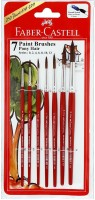 Faber Castell Pony Round Paint Brushes (Set Of 1, Red)