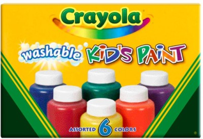 Buy Crayola Washable Kids Paint Color Bottle: Paint