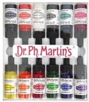 Dr. Ph. Martin's Acrylic Color Bottle (Set Of 12, Assorted)