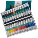 Winsor & Newton Fine Acrylic Colour Tube - Set Of 24, Multicolor