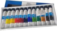 Winsor & Newton Fine Water Color Tube (Set Of 12, Multicolour)