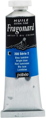 Fragonard Oil Paint Tube Bright Blue
