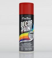Com-Paint Décor Paint Oil Paint Bottle (Set Of 1, Dark Red)