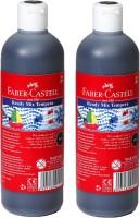 Faber-Castell Tempera Oil Paint Bottle (Set Of 2, Black)