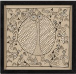 Wink Wall Art Owl Small