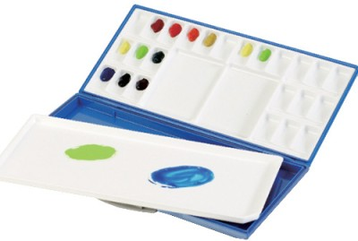 Buy Mijello Synthetic Resin 24 Paint Wells Palette: Palette