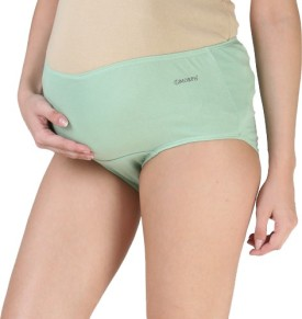 Morph Maternity Green Women's Maternity Panty Pack Of 1