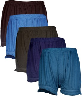 Skipper Solid Bloomer Girl's Brief Panty Pack Of 5