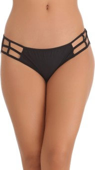 Clovia Bond Girl Brief In Black Women's Hipster Black Panty Pack Of 1