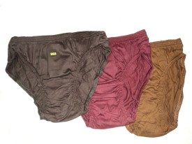 Priya Tex Plain Girl's Hipster, Periods Panty Pack Of 3