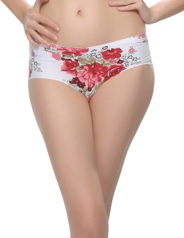 Clovia Women's Hipster Maroon Panty Pack Of 1