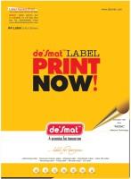 Desmat A4st12 - 100s,Labels,A4 Sheet Self-Adhesive Paper Label (White)