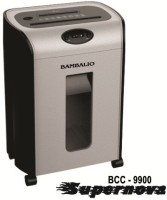 Bambalio 7 Sheets 30 Mins Non Stop Working Paper/Cd/Credit Card Level 2 Micro-cut Office Paper Shredder (Grey)