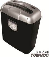 Bambalio 6 Sheets Paper/Cd/Credit Card Level 3 Cross-cut Office Paper Shredder (Silver)