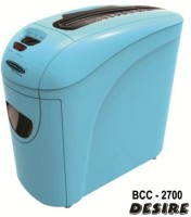 Bambalio 10 Sheets Paper/Cd/Credit Card Level 3 Cross-cut Office Paper Shredder (Blue)