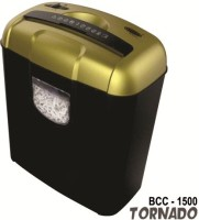 Bambalio 6 Sheets Paper/Cd/Credit Card Level 3 Cross-cut Office Paper Shredder (Gold)