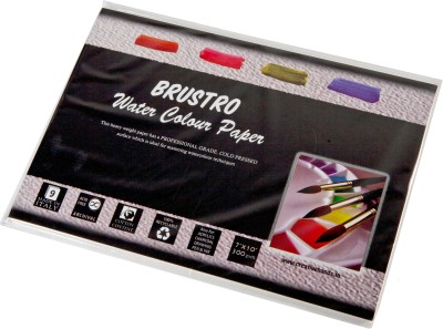 Buy Brustro Watercolor Paper 300 gsm Pack (7