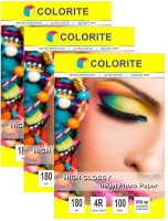 Colorite 180gsm Cast Coated Inkjet Unruled 4R Photo Paper