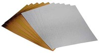 Yuan Da Long Pack Of 10 Unruled A4 Glossy Cover Card Sheets (Set Of 1, Multicolor)