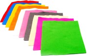 Chrome Art & Craft Paper Ruled A4 Multipurpose Paper (Set Of 10, Multicolor) - PPRE3HGWWY36QV54