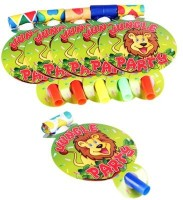 Funcart Jungle Party Party Blowouts (Pack Of 6)