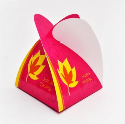 PrintSpeaks Pyramid Lotus Design Gift Box
