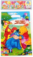 Funcart Winnie The Pooh Lootbag Printed Party Bag (Multicolor, Pack Of 6)