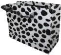 Enwraps Cheetah Big Paper Printed Party Bag - Red, Black, Pack Of 6